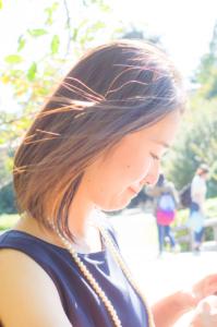 夏のプロフィール写真